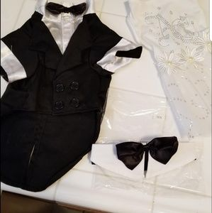 Accessories - 3 piece Pet wedding outfits
